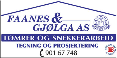 faanes og gjølga as